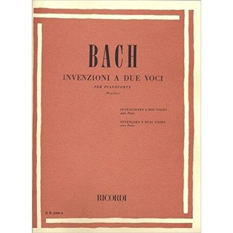 Bach Invenzioni A 2 Voci - vaiconlasigla; strumenti musicali; vaiconlasigla shop; vaiconlasigla strumenti musicali; musi