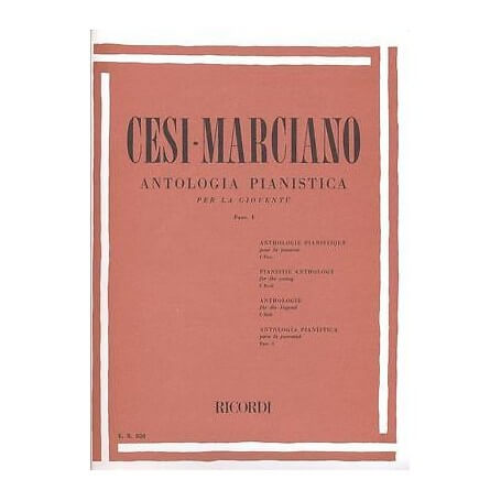 CESI-MARCIANO Antologia pianistica per la gioventù (fasc. 1) - vaiconlasigla; strumenti musicali; vaiconlasigla shop; va