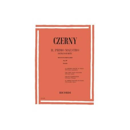 CZERNY C. - IL PRIMO MAESTRO DI PIANOFORTE - vaiconlasigla; strumenti musicali; vaiconlasigla shop; vaiconlasigla strume