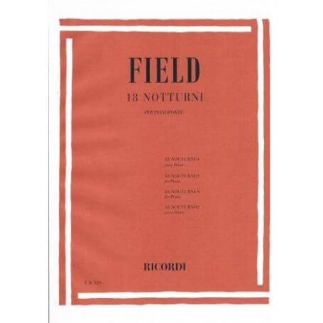 FIELD 18 NOTTURNI PER PIANOFORTE - vaiconlasigla; strumenti musicali; vaiconlasigla shop; vaiconlasigla strumenti musica