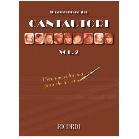 IL CANZONIERE DEI CANTAUTORI VOL. 2 TESTI CON ACCORDI