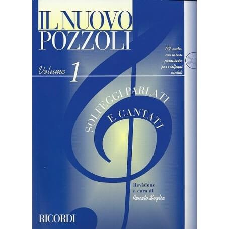 Il Nuovo Pozzoli: Solfeggi Parlati e Cantati Vol. 1 - vaiconlasigla; strumenti musicali; vaiconlasigla shop; vaiconlasig