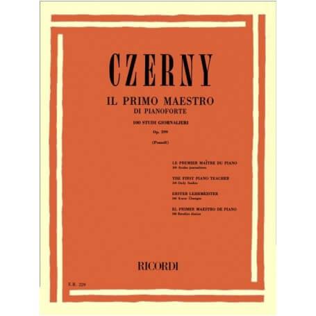 Il Primo Maestro di Pianoforte op.599 - vaiconlasigla; strumenti musicali; vaiconlasigla shop; vaiconlasigla strumenti m