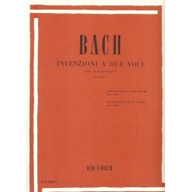Invenzioni a Due Voci J.S.Bach ER2266A