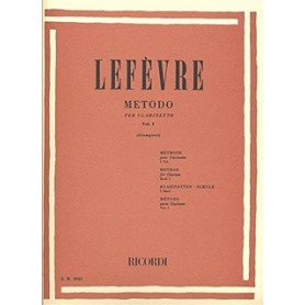 LEFEVRE - METODO PER CLARINETTO VOL. 1