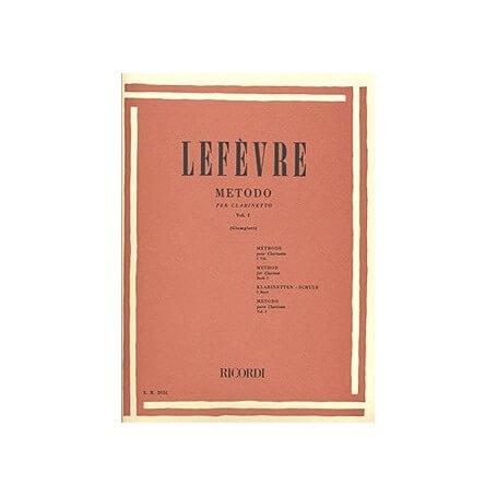 LEFEVRE - METODO PER CLARINETTO VOL. 1 - vaiconlasigla; strumenti musicali; vaiconlasigla shop; vaiconlasigla strumenti