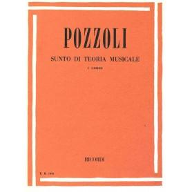 POZZOLI - Sunto di Teoria Musicale 1º Corso