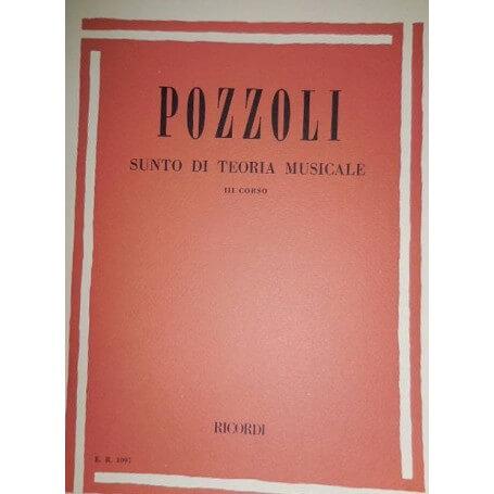 POZZOLI - Sunto di Teoria Musicale 3º Corso - vaiconlasigla; strumenti musicali; vaiconlasigla shop; vaiconlasigla strum