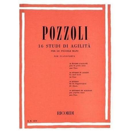 POZZOLI 16 STUDI DI AGILITÀ - vaiconlasigla; strumenti musicali; vaiconlasigla shop; vaiconlasigla strumenti musicali; m
