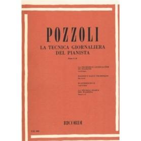 POZZOLI : LA TECNICA GIORNALIERA DEL PIANISTA PARTE I e II