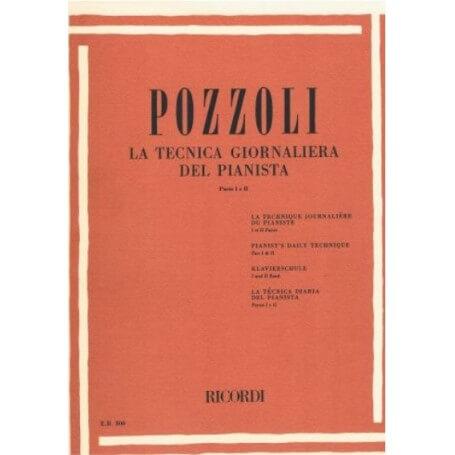 POZZOLI : LA TECNICA GIORNALIERA DEL PIANISTA PARTE I e II - vaiconlasigla; strumenti musicali; vaiconlasigla shop; vaic