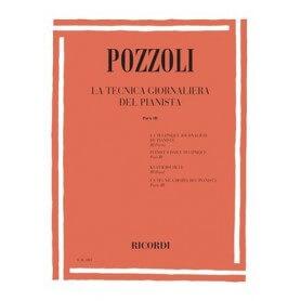 POZZOLI : LA TECNICA GIORNALIERA DEL PIANISTA PARTE III