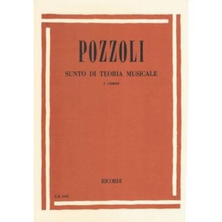 POZZOLI : SUNTO DI TEORIA MUSICALE I° CORSO - vaiconlasigla; strumenti musicali; vaiconlasigla shop; vaiconlasigla strum