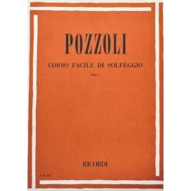 POZZOLI CORSO FACILE DI SOLFEGGIO PARTE I