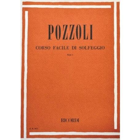 POZZOLI CORSO FACILE DI SOLFEGGIO PARTE I - vaiconlasigla; strumenti musicali; vaiconlasigla shop; vaiconlasigla strumen