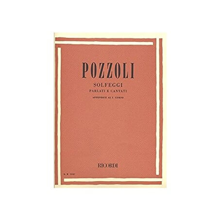 Pozzoli Solfeggi parlati e cantati  1 Corso - vaiconlasigla; strumenti musicali; vaiconlasigla shop; vaiconlasigla strum