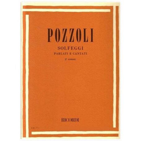 Pozzoli Solfeggi parlati e cantati  III Corso - vaiconlasigla; strumenti musicali; vaiconlasigla shop; vaiconlasigla str
