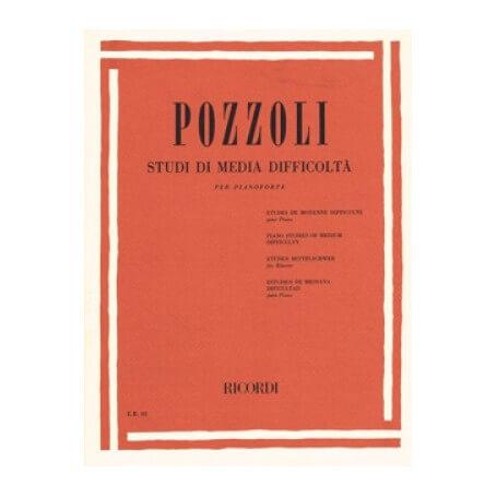 Pozzoli Studi di media difficoltà per pianoforte - vaiconlasigla; strumenti musicali; vaiconlasigla shop; vaiconlasigla