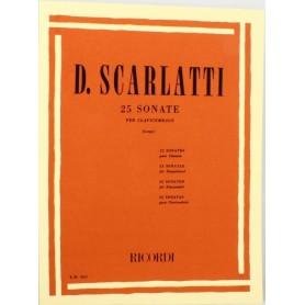 Scarlatti 25 Sonate per clavicembalo