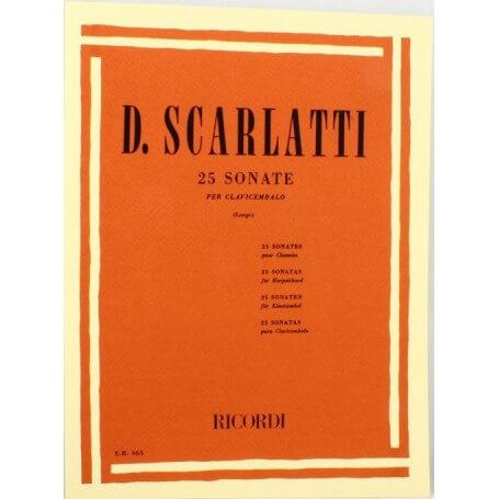 Scarlatti 25 Sonate per clavicembalo - vaiconlasigla; strumenti musicali; vaiconlasigla shop; vaiconlasigla strumenti mu