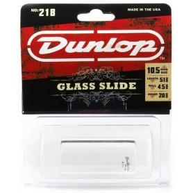 Dunlop 218 Heavy Pyrex Glass Slide