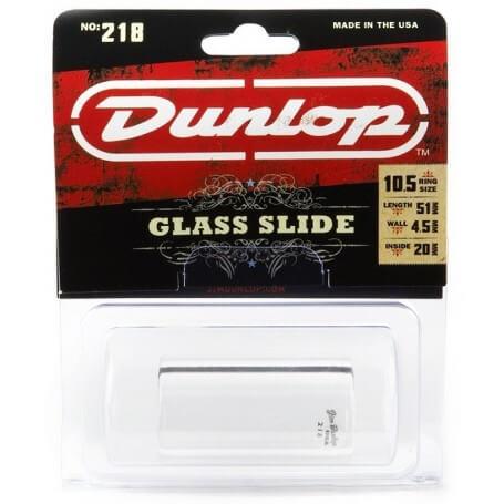 Dunlop 218 Heavy Pyrex Glass Slide