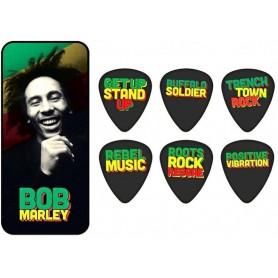 DUNLOP Bob Marley Pick Tin - 'Quotes'