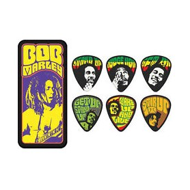 DUNLOP Guitar Picks Bob Marley Pick Tin BOBPT06M