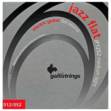 GALLI JF1252 JAZZ FLAT WOUND Medium Light - vaiconlasigla; strumenti musicali; vaiconlasigla shop; vaiconlasigla strumen