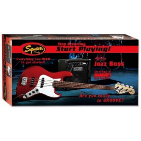 FENDER Squier Affinity Jazz Bass Pack