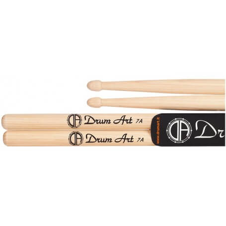 DRUM ART bacchette HICKORY 7A