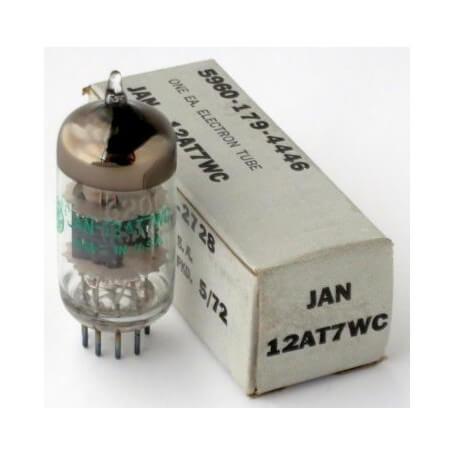 GE JAN 12AT7WC vacuum tube - vaiconlasigla; strumenti musicali; vaiconlasigla shop; vaiconlasigla strumenti musicali; mu