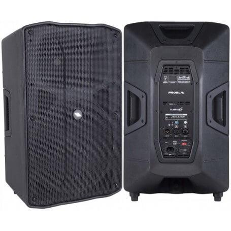 PROEL FLASH12XD Active processed 2-way loudspeaker system