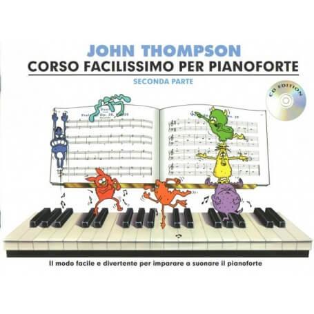 Corso Facilissimo di Pianoforte Parte Seconda J.Thompson - vaiconlasigla; strumenti musicali; vaiconlasigla shop; vaicon