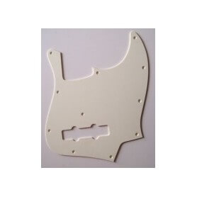 SOUNDSATION PARTS JP-1AWMascherina Jazz Bass, Monostrato, Argent White