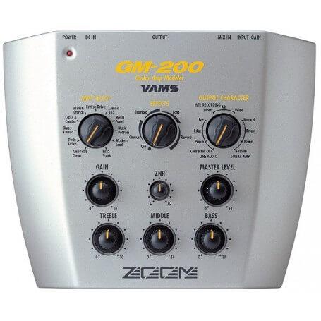 ZOOM GM 200 VAMS + EFFETTI + DISTORSORE - vaiconlasigla; strumenti musicali; vaiconlasigla shop; vaiconlasigla strumenti