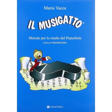 Il musigatto. Metodo per lo studio del pianoforte. Preparatorio - vaiconlasigla; strumenti musicali; vaiconlasigla shop;