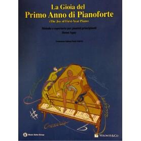 La gioia del primo anno di pianoforte