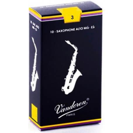 VANDOREN Ance Sax Alto SR213 Mib 3 - vaiconlasigla; strumenti musicali; vaiconlasigla shop; vaiconlasigla strumenti musi