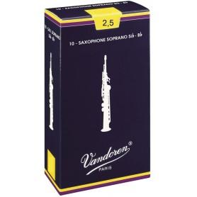 VANDOREN Ance Sax Soprano SR2025 Sib 2,5