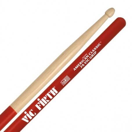 VIC FIRTH 7AVG BACCHETTE CON GRIP - vaiconlasigla; strumenti musicali; vaiconlasigla shop; vaiconlasigla strumenti music