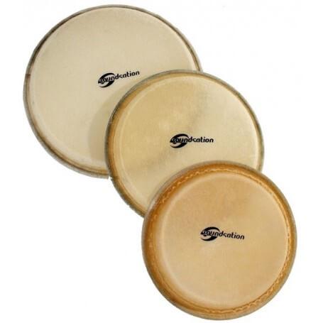 "SOUNDSATION SBH-017 Pelle Naturale per BONGO da 7,5"" - vaiconlasigla; strumenti musicali; vaiconlasigla shop; vaiconlasi"