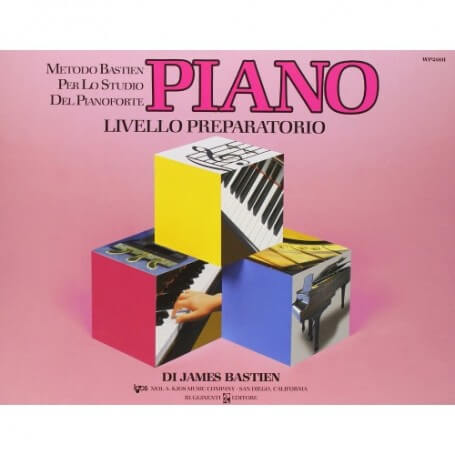 Bastien Piano Livello Preparatorio