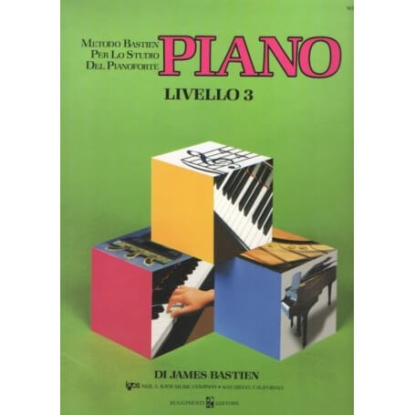 James Bastien PIANO Livello 3
