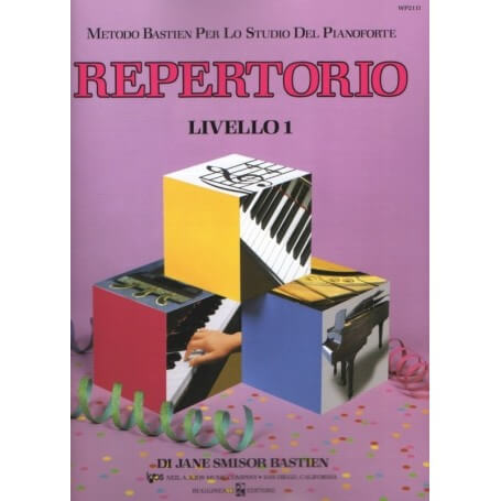 JAMES BASTIEN REPERTORIO LIVELLO 1