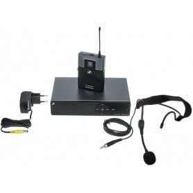 SENNHEISER XSW-1-ME3-B headset.