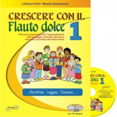 Crescere con il Flauto dolce vol. 1 - vaiconlasigla; strumenti musicali; vaiconlasigla shop; vaiconlasigla strumenti mus