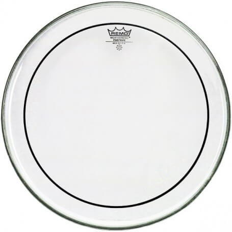 Remo PS-0314-00 - Pinstripe Clear 14""