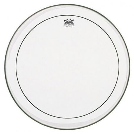 "REMO PS-1320-00 - Pinstripe Clear 20"" - vaiconlasigla; strumenti musicali; vaiconlasigla shop; vaiconlasigla strumenti m"