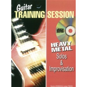 Guitar Training Session: Heavy Metal Solos & Improvisation (Book/CD)